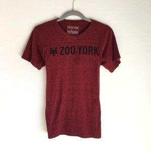 Zoo York Maroon T-Shirt Short Sleeves